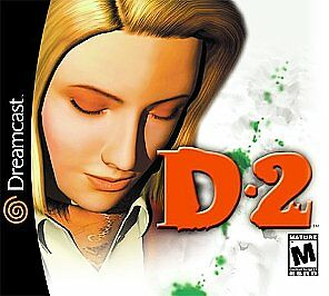 D2 Sega Dreamcast horror game Cover Art