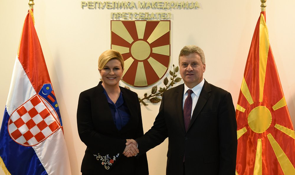 Ivanov-Kitarovic: Bilateral issues to be solved in parallel with Euro-integration process