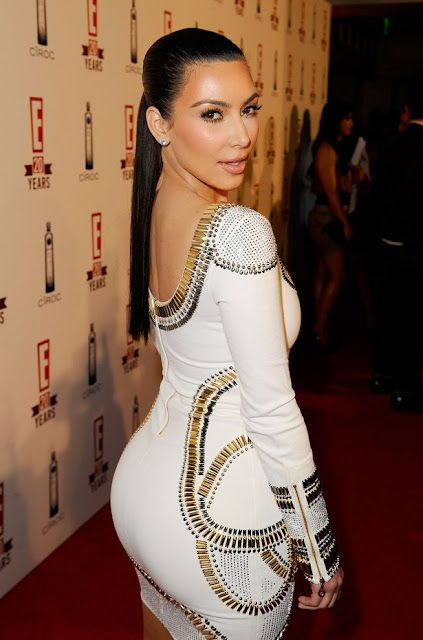 Kim Kardashian Body Statistics