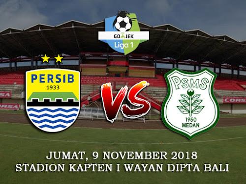 Persib VS PSMS 9 November 2018