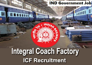 Integral Coach Factory Apprentice Recruitment