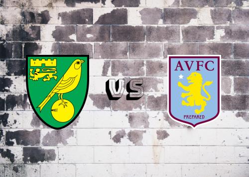 Norwich City vs Aston Villa  Resumen