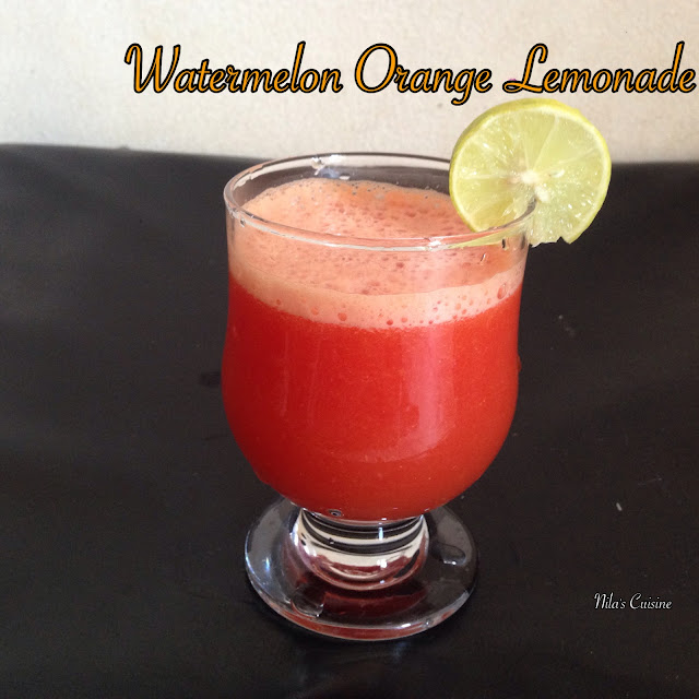 Watermelon Orange Lemonade