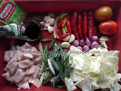 Cara Membuat Tongseng Ayam