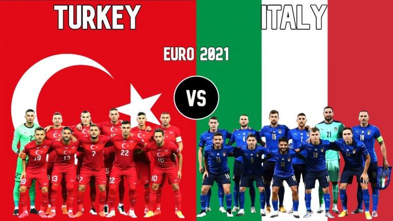 مشاهدة مباراة تركيا وإيطاليا