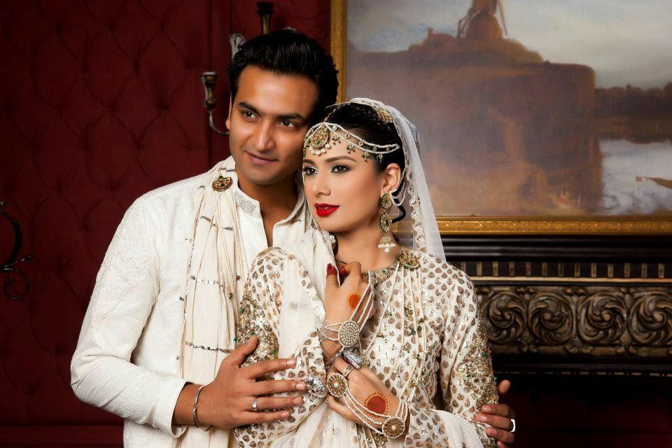 Model Sofiya Khan With Her Huband