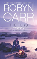Book cover of The Hero by Robyn Carr