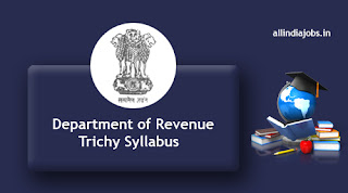 Department of Revenue Trichy Seaman Syllabus