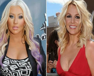 Christina Aguilera y Britney Spears