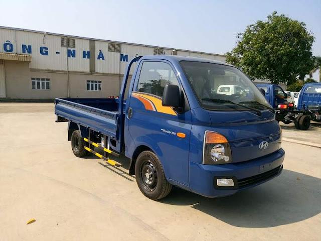 Giá lăn bánh Hyundai H150 thùng lửng