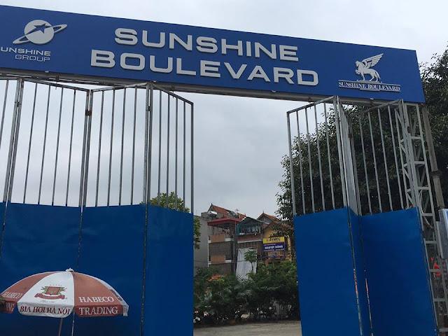 Cập nhật tiến độ thi công chung cư Sunshine Boulevard số 2 Khuất Duy Tiến