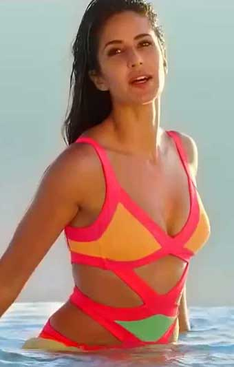Katrina Kaif in Bikini Swimsuit