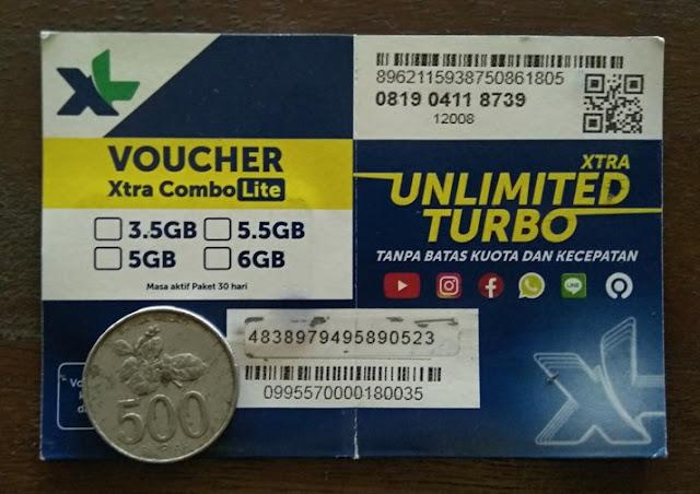 Cara Mengaktifkan Paket Perdana Xtra Combo Lite 4.5GB 30 Ribu