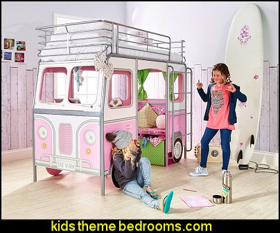 De Van Girls Cabin Bed