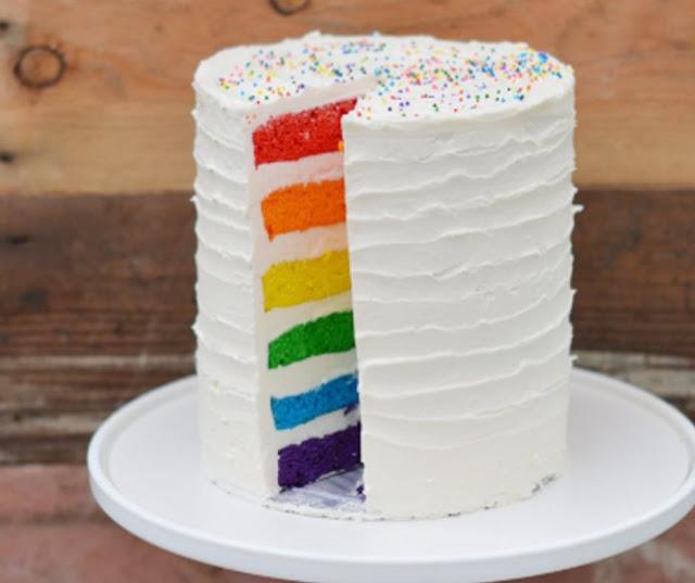 Soft Buttermilk White Velvet Cake