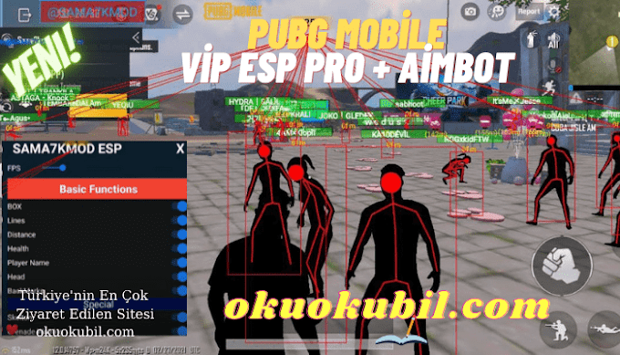 Pubg Mobile Vip Esp 1.2 Pro + Aimbot GL + KR Fully Antiban Apk