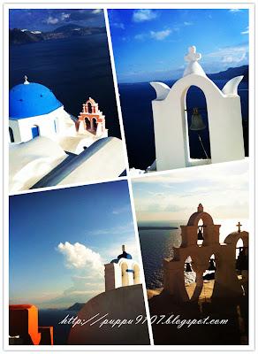 跟著感覺走: 去看世界最美的日落-聖托里尼島.希臘