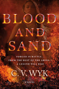 Blood & Sand by CV Wyk cover