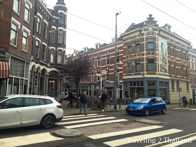 Traveling in Rotterdam, Netherlands