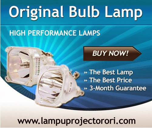 harga lampu projector panasonic