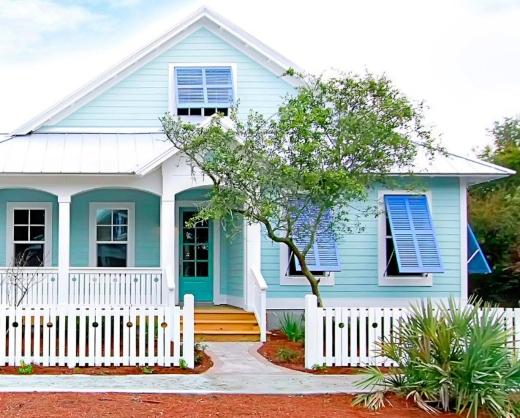 Blue Coastal Homes