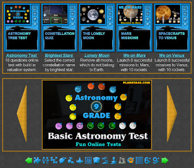 Astronomy Tests