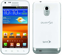 Sprint SGSII Epic 4G Touch in Frost White