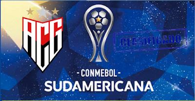 Atlético esta classificado para Copa Sul-Americana 2021
