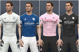 Leicester City 2020/2021 Kits - PES 2017