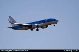 Avión Boeing 737 Next Gen PH-BXK