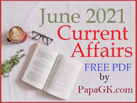 June Current Affairs 2021 PDF Free Download in Hindi