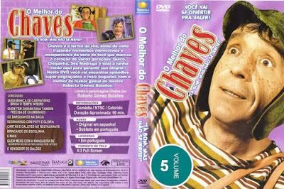 Série O Melhor do Chaves Volume 5 DVD Capa