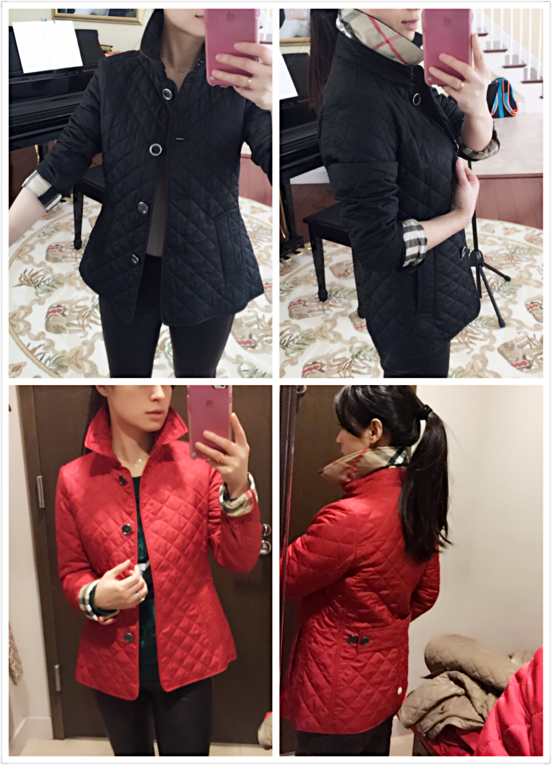 Welcome to FABBYLIFE: Recent buys: Burberry quilted jacket ... : red burberry quilted jacket - Adamdwight.com
