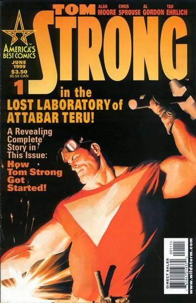 Tom Strong uno de los mejores cómics de Alan Moore