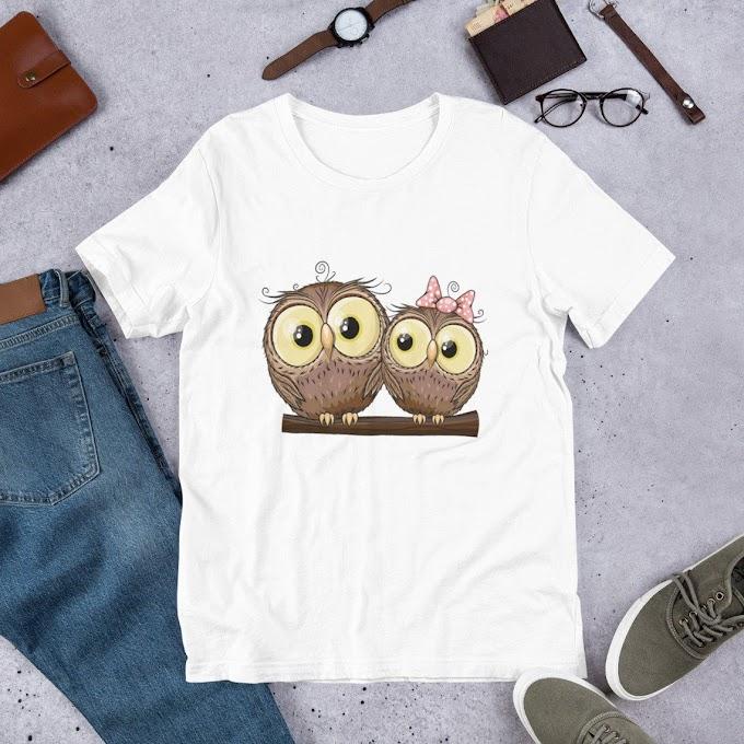 women's Tshirt, gifts Tshirt, owl Tshirt, Unisex TShirt