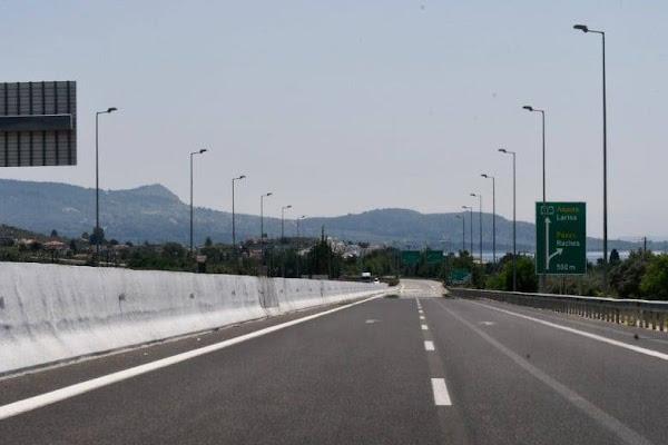 Δόθηκε σήμερα Δευτέρα 19 Ιουλίου η δυνατότητα οδικής κυκλοφορίας στον κλάδο εξόδου προς Ράχες και Παραλία Ραχών