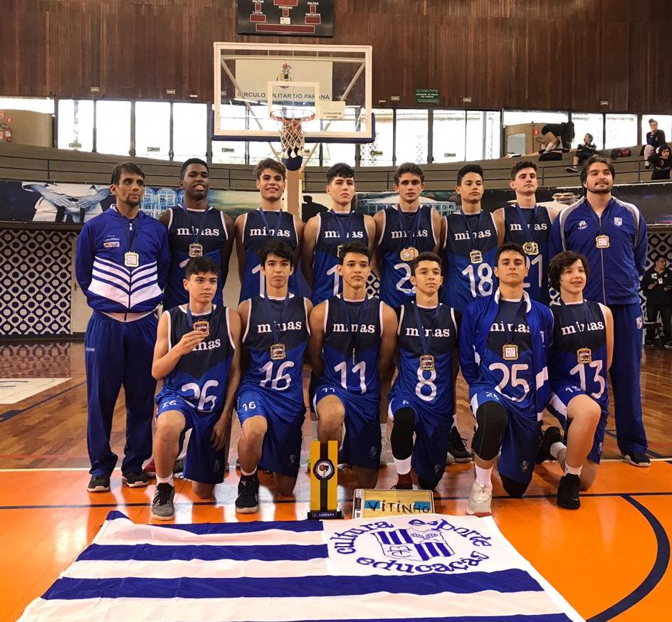Minas TC (MG) Campeão do Torneio Sul-Americano Sub-15 Masculino de  Basquetebol de 2018 94d3d81f39f59