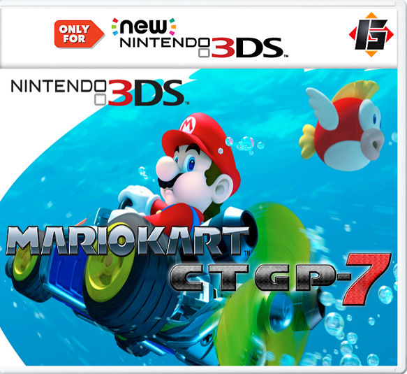 Mario Kart CTGP-7 Decrypted 3DS EUR