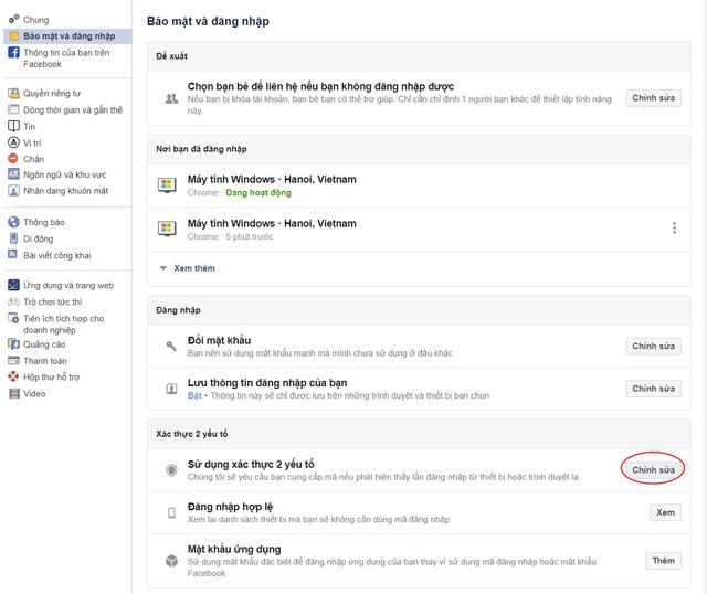 Cách bật bảo mật 2 lớp trên Facebook để bảo vệ tài khoản