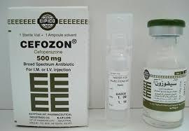 سعر ودواعى إستعمال دواء سيفوزون Cefozon مضاد حيوى
