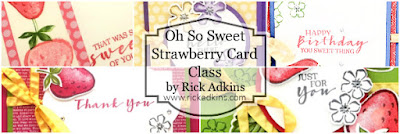 Registration for my Oh So Sweet Strawberry Class is now open  Click here to Register now!