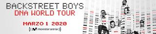Concierto de BACKSTREET BOYS en Bogotá