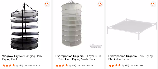 home depot Herb Drying Rack