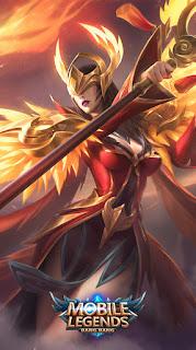 Pharsa Empress Phoenix Heroes Mage of Skins