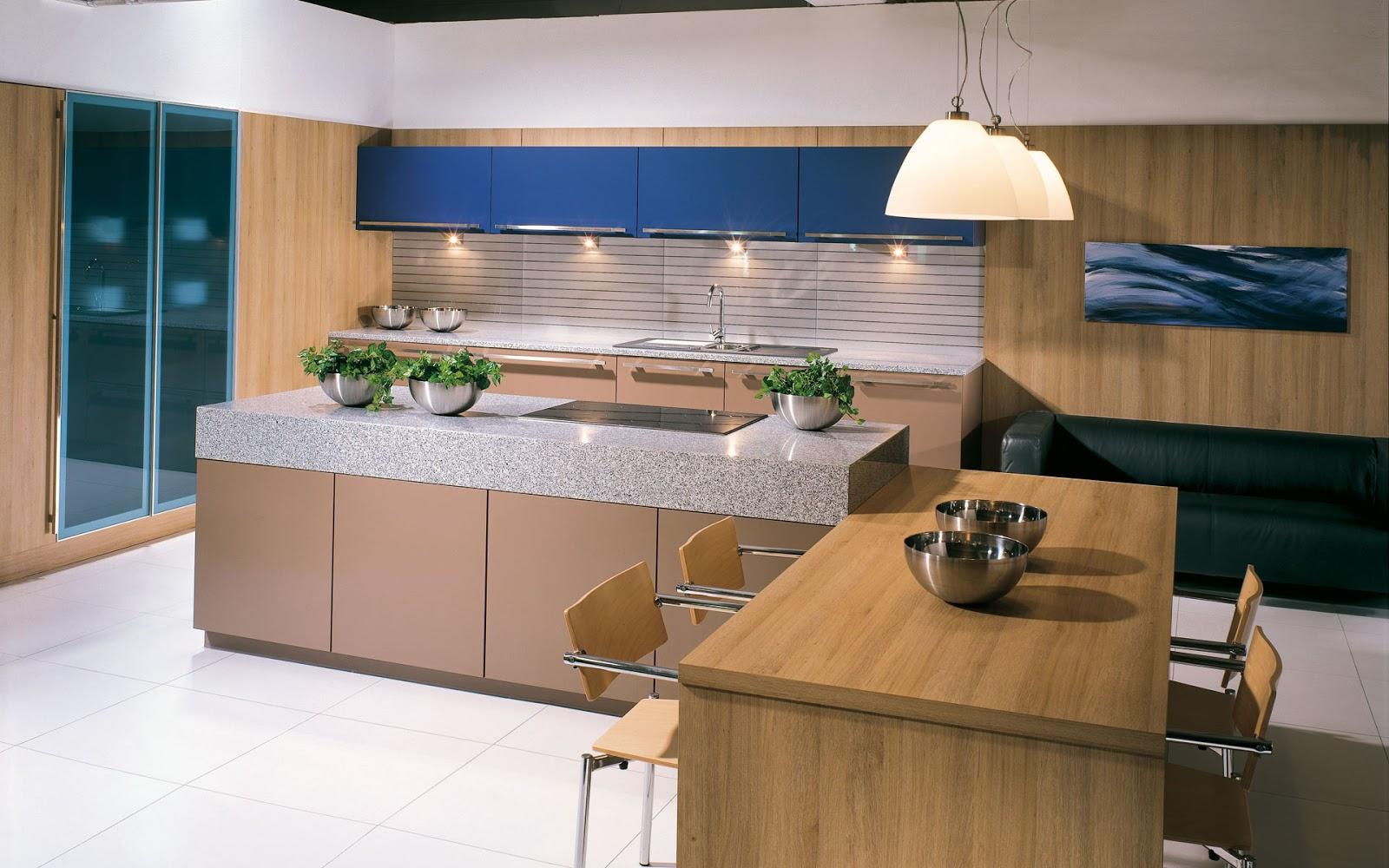 30 ideas de mesas y barras para comer en la cocina for Cocinas angostas