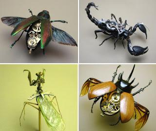 Insectos steampunk