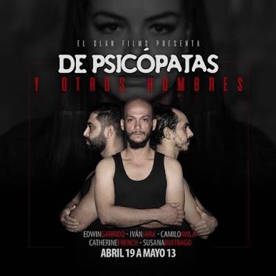 De psicópatas y otros hombres (TEATRO)