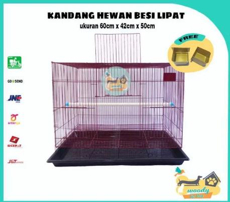 Harga Kandang Kucing Dayang Pet Cargo Kennel Box Small