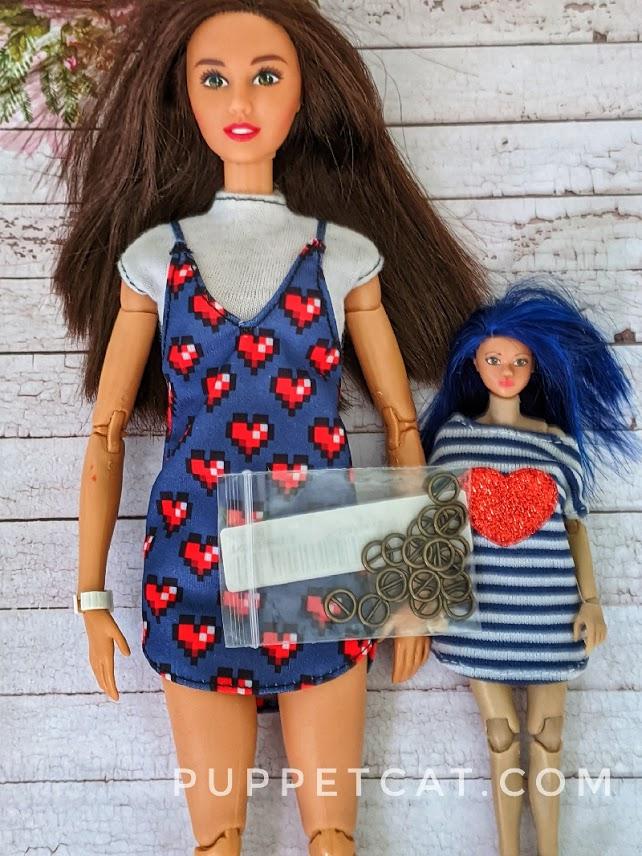 Кукольная швейная фурнитура