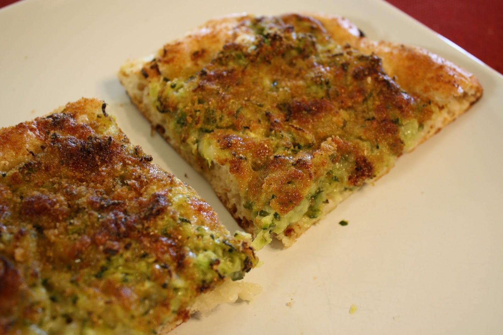 Lactose Free Girl Zucchini Pizza